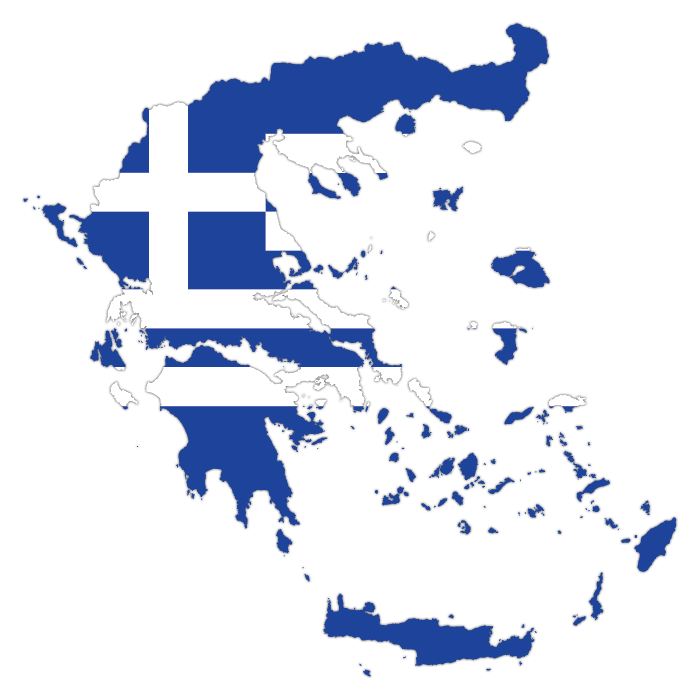 catamaran charter greece Map