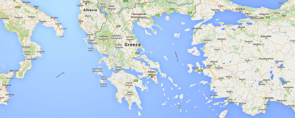 Greece-map-catamaran-charter-greece