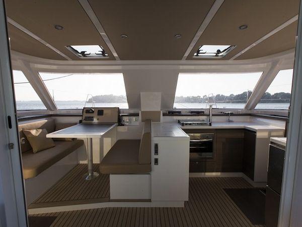 Nautitech Open 40 Catamaran Charter Greece