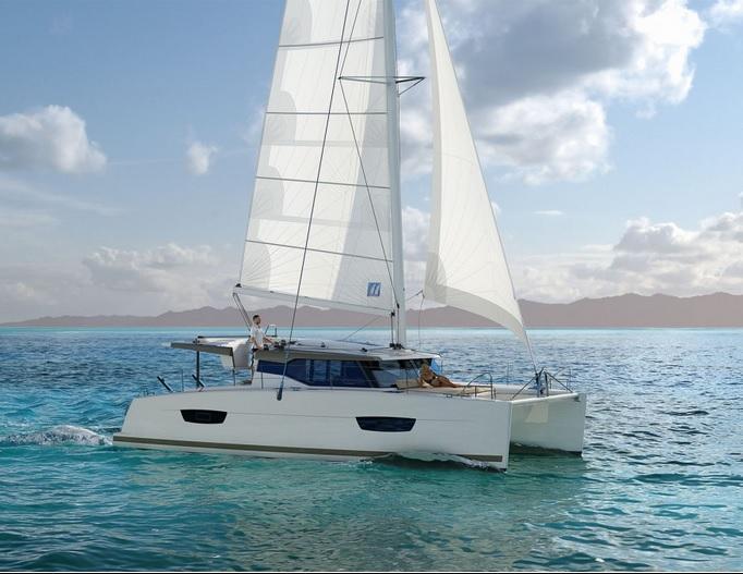 Fountain Pajot Lucia 40 Catamaran Charter Greece